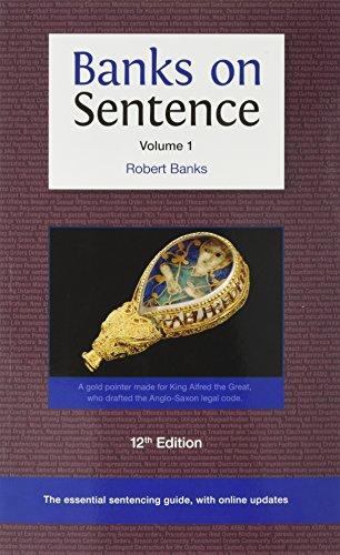 Banks on Sentence 2017: Vol 1 2 (Paperback) - Robert Banks