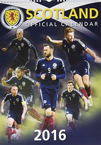 9780993224096: Scotland International Football Official Calendar 2016