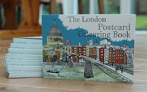 9780993536625: The London Postcard Colouring Book