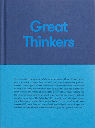 9780993538704: Great Thinkers (School of Life)