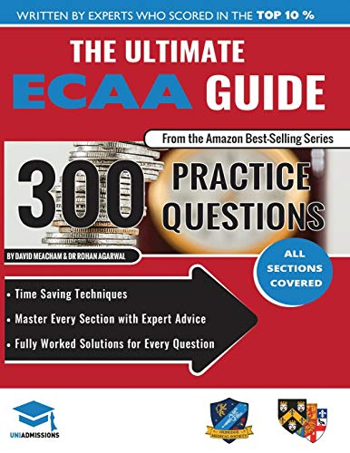 The Ultimate ECAA Guide: 300 Practice Questions: Agarwal, Rohan