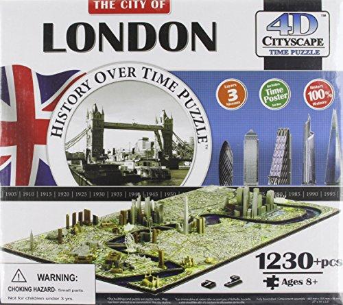 9780993744327: 4d Cityscape London History Time: 1,230 Pieces