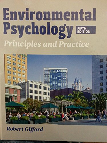 9780993771903: Environmental Psychology: Principles and Practice