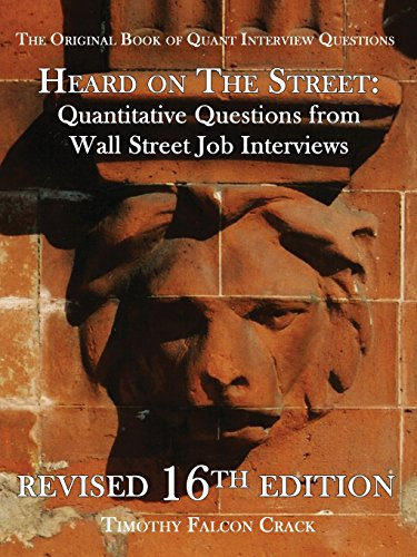 9780994118257: Heard on the Street: Quantitative Questions from Wall Street Job Interviews