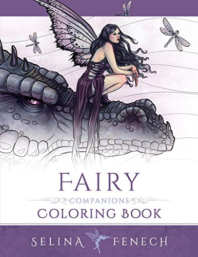 9780994355447: Fairy Companions Coloring Book - Fairy Romance, Dragons and Fairy Pets (Fantasy Art Coloring by Selina) (Volume 4)