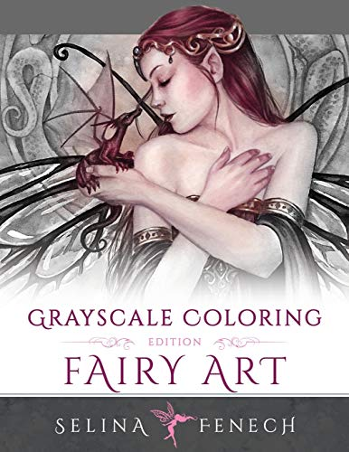 9780994355492: Fairy Art - Grayscale Coloring Edition: Volume 1 (Grayscale Coloring Books by Selina)