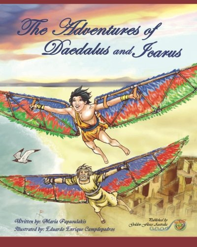 The Adventures of Daedalus and Icarus: Daedalus: Mythology, Greek