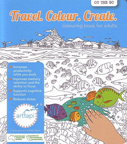 9780994407412: Travel. Colour. Create. Colouring for Adults