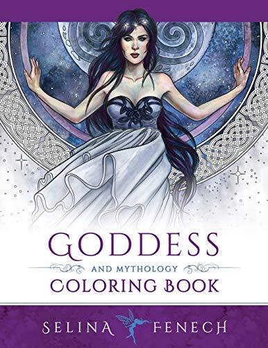 9780994585226: Goddess and Mythology Coloring Book: 9 (Fantasy Coloring by Selina)