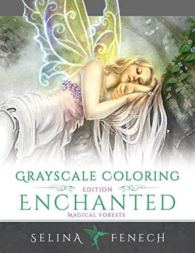 9780994585240: ENCHANTED MAGICAL FORESTS - GR: Volume 3 (Grayscale Coloring Books by Selina)