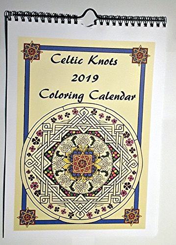 9780994629517: 2017 Celtic Knots Adult Coloring Wall Calendar