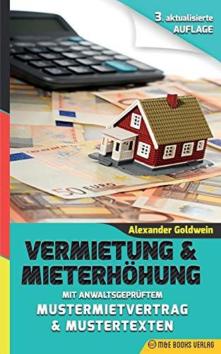 9780994853318: Vermietung & Mieterhöhung: Mit anwaltsgeprüftem Mustermietvertrag & Mustertexten