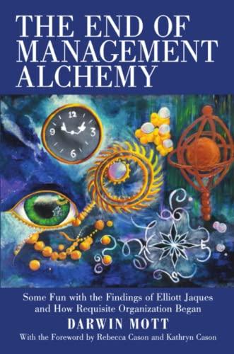 The End of Management Alchemy: Some Fun: Mott, Darwin