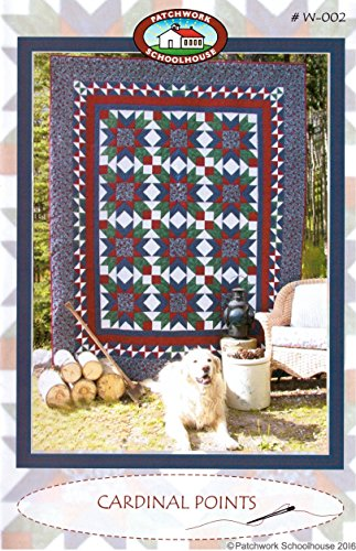 9780995051324: Quilting Pattern: Cardinal Points (Pillow, Table Runner, Wall Hanging, Crib/Baby/Lap, Twin, DOUBLE, Queen/King Quilt)