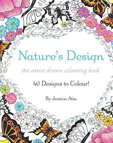 9780995094208: Nature's Design: A Hand Drawn Colouring Book of 35 Amazing Drawings