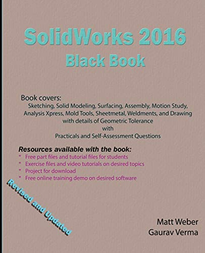 9780995097407: SolidWorks 2016 Black Book