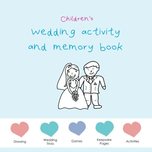 Children's Wedding Activity and Memory Book - blue edition: wedding puzzles, wedding activities, wedding games, wedding memory pages.