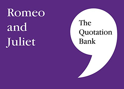 9780995608610: The Quotation Bank: Romeo and Juliet GCSE Revision and Study Guide for English Literature 9-1