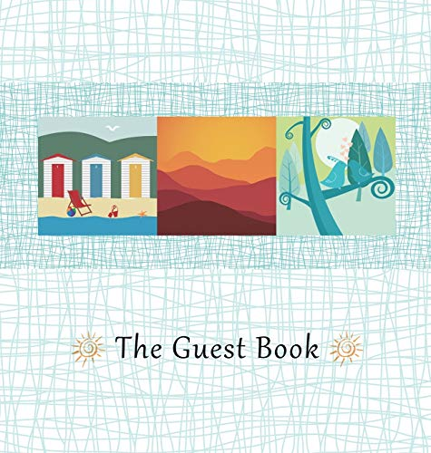 Hardcover Guest Book, Comments Book, Visitors Book, Guest Comment Book, Vacation Home Guest Book, ...