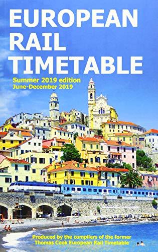9780995799851: European Rail Timetable Summer 2019
