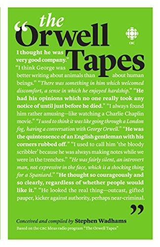 The Orwell Tapes: Wadhams, Stephen/ Davison,