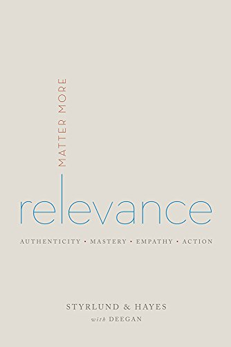 9780996018302: Relevance: Matter More