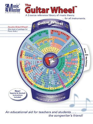 9780996027908: The Guitar Wheel: A 2 Ounce Reference Library of Music Theory... for All Instruments