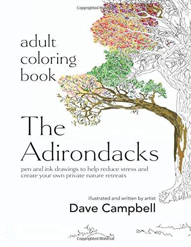 9780996135481: Adult Coloring Book: The Adirondacks