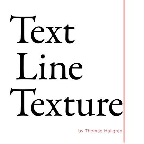 9780996214407: Text Line Texture