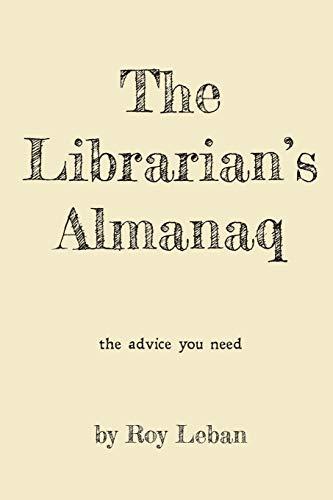 9780996256803: The Librarian's Almanaq