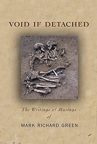 9780996267601: Void if Detached: The Writings & Musings