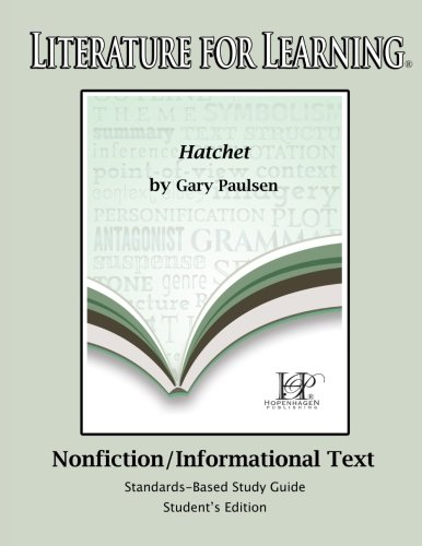 hatchet study guide abebooks rh abebooks com Hatchet Book Activities Hatchet Worksheets