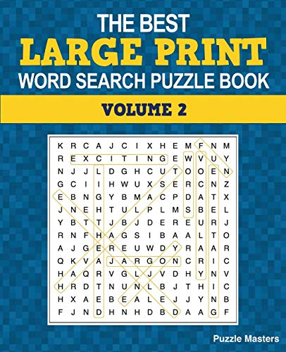 9780996275446: The Best Large Print Word Search Puzzle Book: A Collection of 50 Themed Word Search Puzzles; Great for Adults and for Kids! (The Best Large Print Word Search Puzzle Books) (Volume 2)
