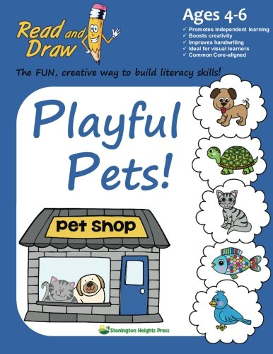 9780996313001: Read and Draw: Playful Pets!