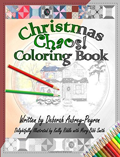 9780996408967: Christmas Chaos! Coloring Book