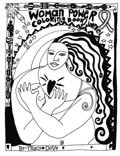 9780996476782: Women Power Coloring Book and Journal