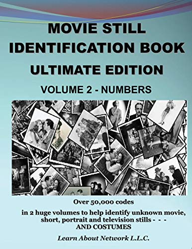 9780996501521: Movie Still Identification Book - Volume 2 - Numbers (Ultimate Edition)