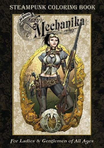Lady Mechanika Steampunk Coloring Book