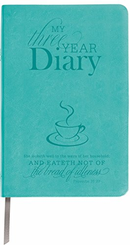 9780996614917: Teal My 3 Year Leather Diary