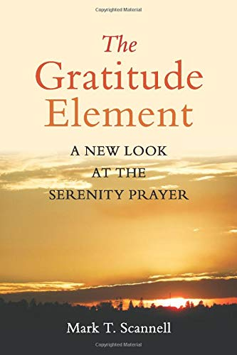 9780996651103: The Gratitude Element: A New Look at the Serenity Prayer