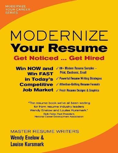 9780996680301: Modernize Your Resume (Modernize Your Career)