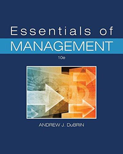 9780996757874: Essentials of Management