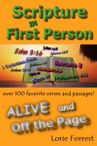9780996786713: Scripture In First Person, ALIVE and Off the Page