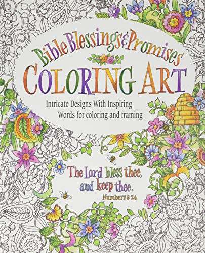 9780996806718: Bible Blessings & Promises Coloring Art