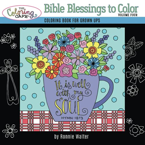 9780996829106: The Coloring Cafe-Volume Four-Bible Blessings to Color (Volume 4)