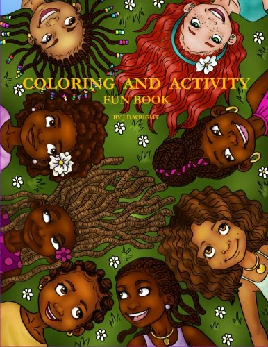 9780996978200: Coloring and Activity Fun Book by J.D.Wright