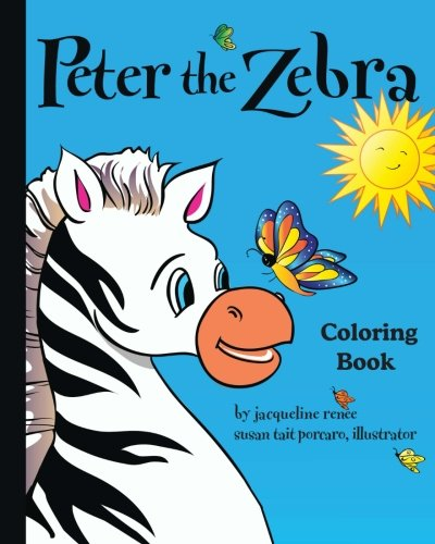 9780997039603: Peter the Zebra: Coloring Book I