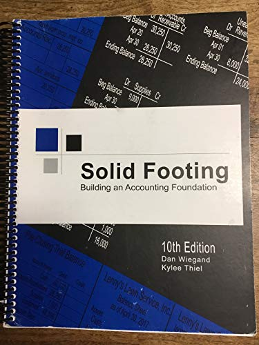 Solid Footing Building an Accounting Foundation