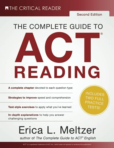 9780997517828: The Complete Guide to ACT Reading, 2nd Edition