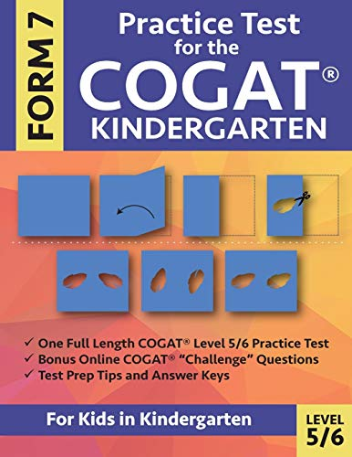 Practice Test for the COGAT Form 7